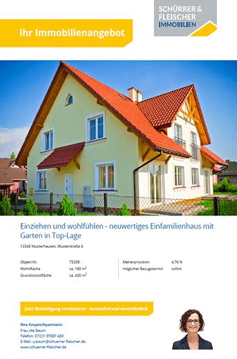 Exposé-Vorlage von Schürer & Fleischer Immobilien