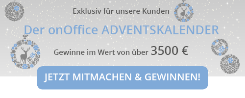 onOffice Adventskalender