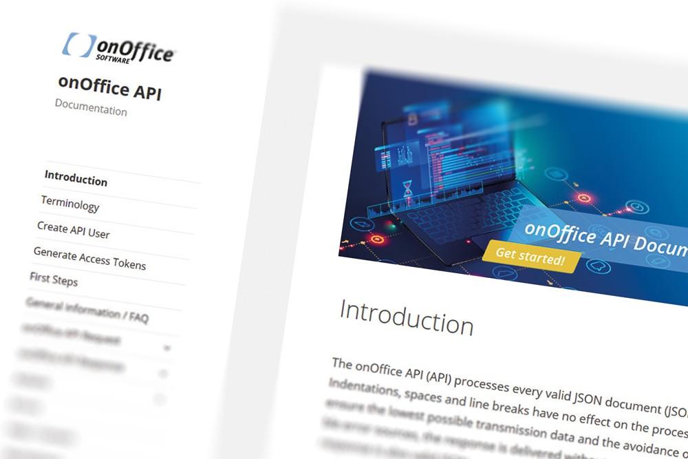 Screenshot onOffice API-Doc