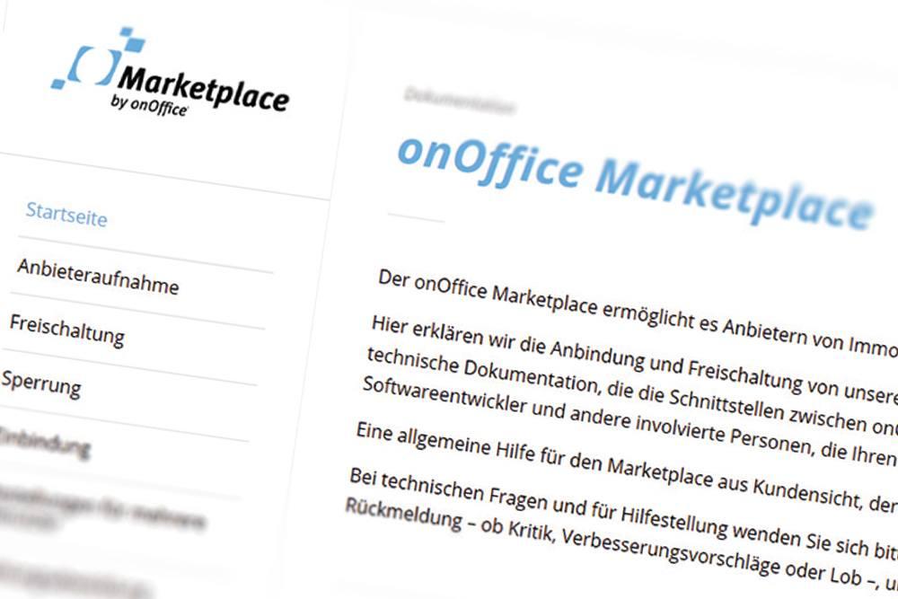 Screenshot onOffice Marketplace-Doc