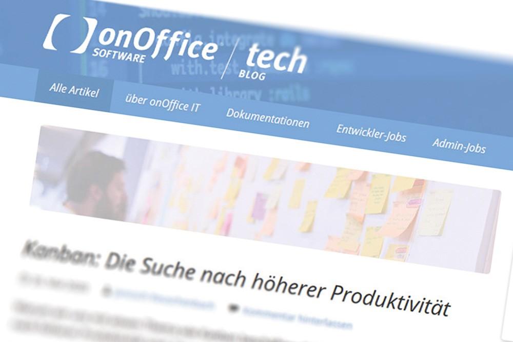 Screenshot onOffice Tech-Blog