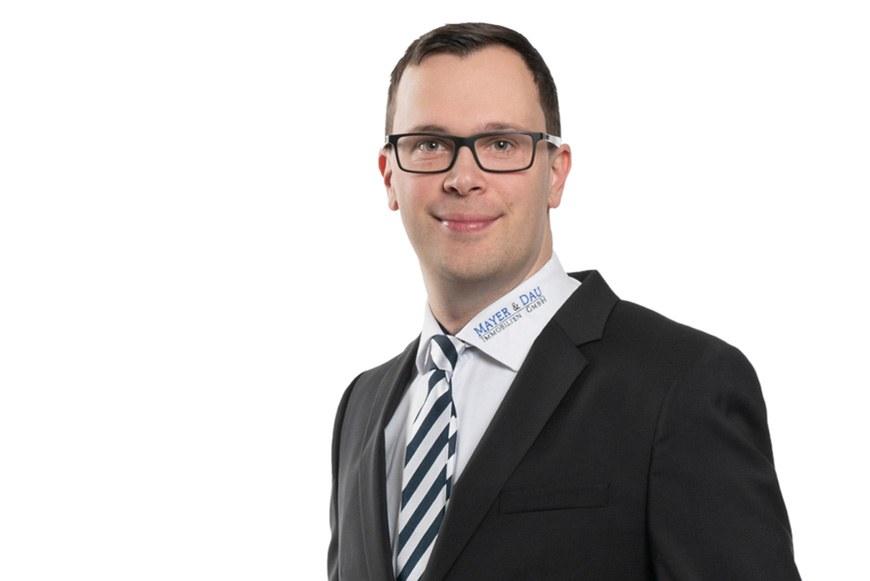 Mayer & Dau Immobilien: Geschäftsführer Benjamin Dau