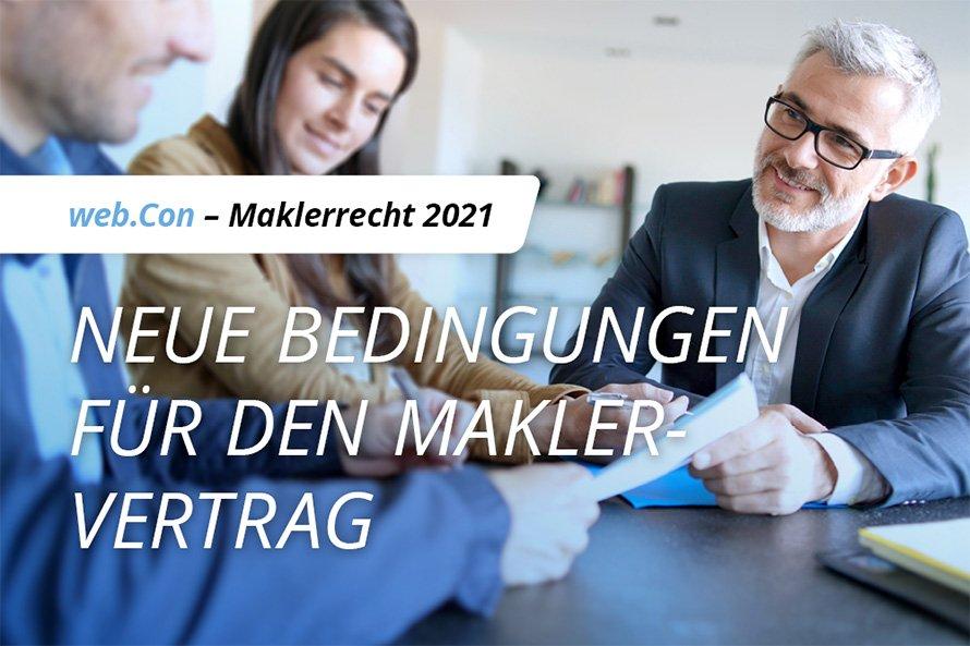 web.Con – Maklerrecht 2021
