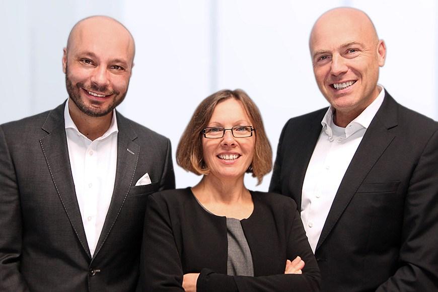 Schürrer & Fleischer Immobilien: Bernd Fleischer, Esther Stahl und Peter Schürrer