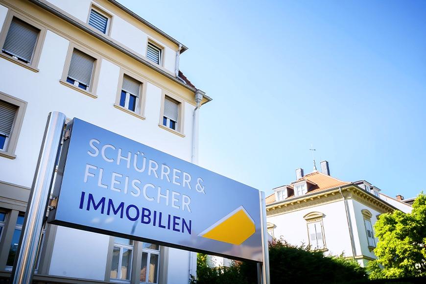 Schürrer & Fleischer Immobilien: Standort in Bruchsal