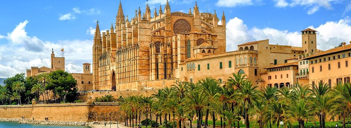 Blick auf die Catedral de Mallorca