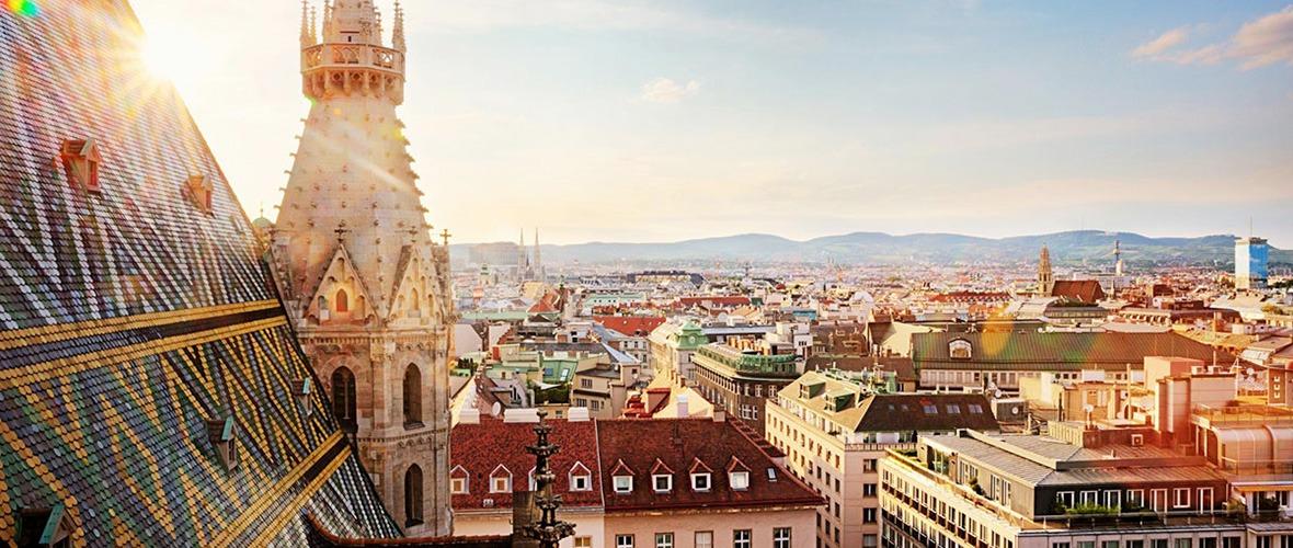 Blick über die Stadt Wien