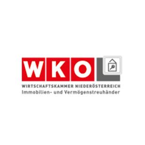WKO Wirtschaftskammer Niederösterreich Immobilien- und Vermögenstreuhänder Logo